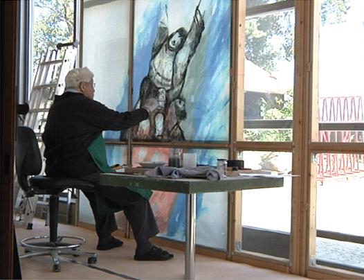 Wandbild Malen Mit Beamer : SIEGER KÖDER  Ein Pfarrer, der malen kann