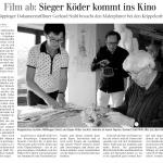 Sieger Köder kommt ins Kino